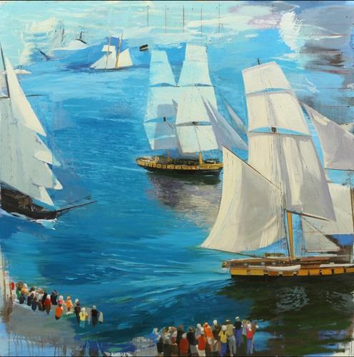 Brown Sails & Sea II