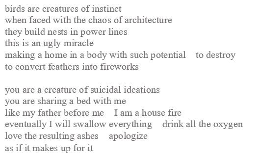 infrastructure poem
